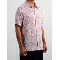 Floral Print Shirt (Short Sleeves)